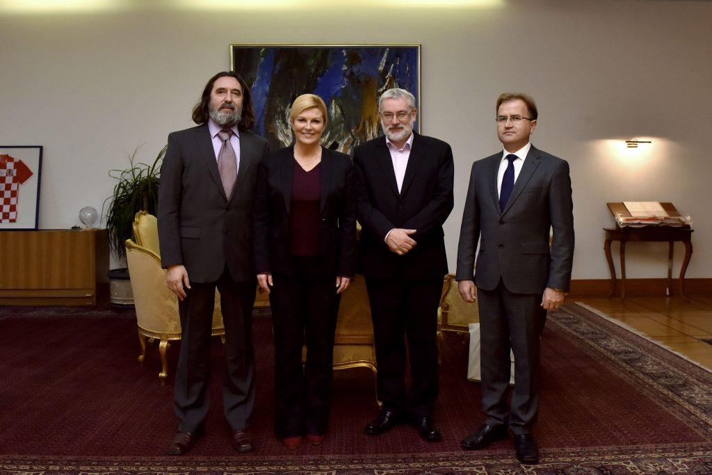 Izaslanstvo Varaždinskih baroknih večeri na susretu kod predsjednice Grabar Kitarović