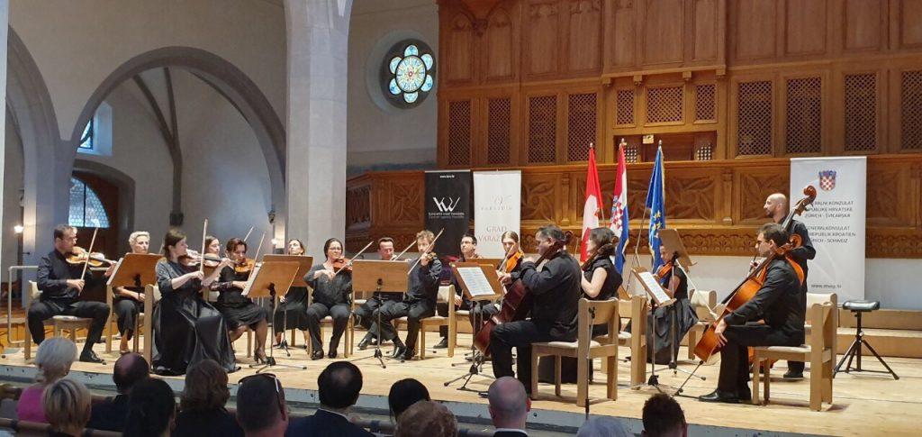 Varaždinski komorni orkestar i Blanka Tkalčić briljirali u švicarskom Schauffhausenu